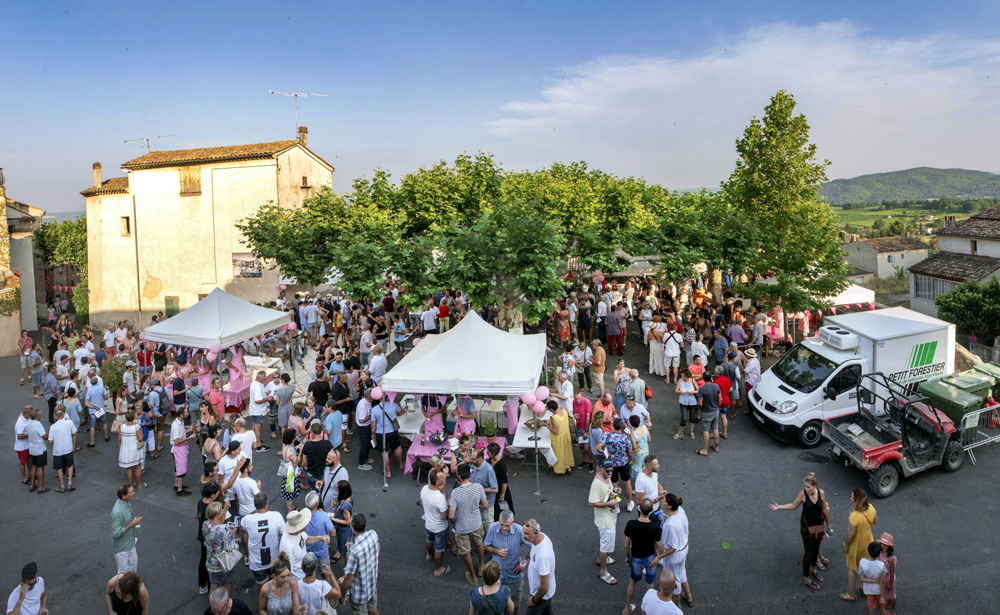 rosé day pierrevert place vignerons dégustations