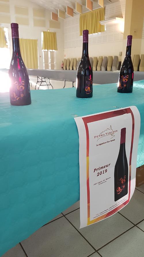 fête du vin primeur 2019 vin primeur rouge cave cooperative petra viridis