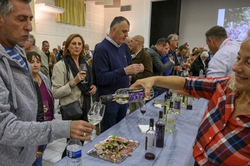 fête du vin primeur 2019 vin primeur rouge et blanc domaine de régusse
