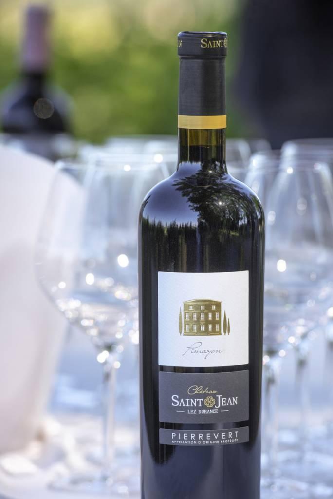 pimayon vin rouge château saint jean lez durance