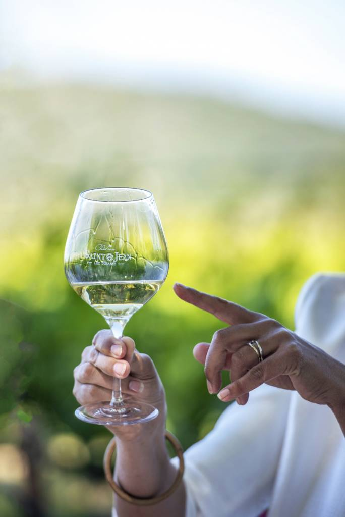 vin blanc château saint jean lez durance